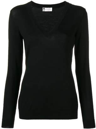 Lanvin v-neck long sleeve sweater