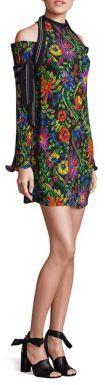 3.1 Phillip Lim3.1 Phillip Lim Floral-Print Cold-Shoulder Dress