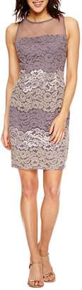 Scarlett Sleeveless Lace Sheath Dress