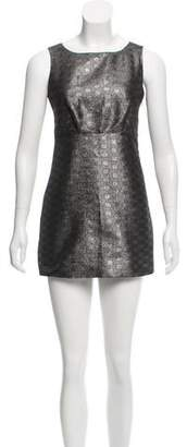 MICHAEL Michael Kors Sleeveless Metallic Dress