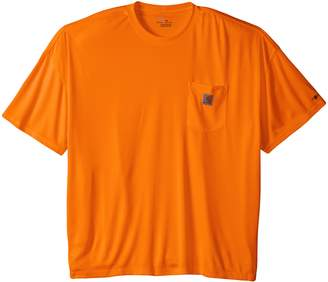 Carhartt Men's Big & Tall High Vis Force Color Enhanced Short Sleeve Tee