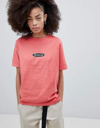 Stussy Relaxed Fit T-Shirt With Trucker Logo