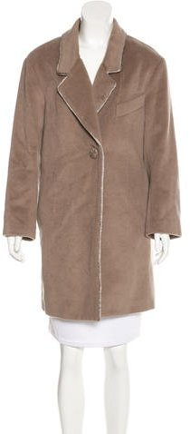 3.1 Phillip Lim 3.1 Phillip Lim Virgin Wool Knee-Length Coat