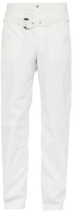 Bianca Saunders - Blue Boy Belted Technical Trousers - Mens - White