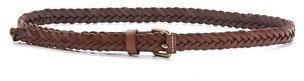 Madewell Herringbone Braid Belt