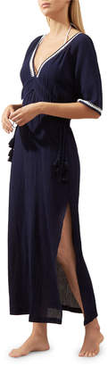 Heidi Klein Carlisle Bay Lace-Trim Coverup Maxi Dress