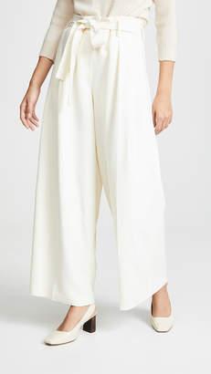 TSE Pleated Pants with Belt