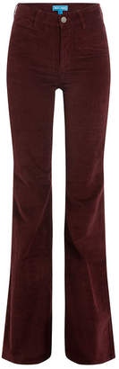 MiH Jeans Flared Velvet Pants