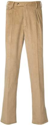 Pt01 straight-leg cord trousers