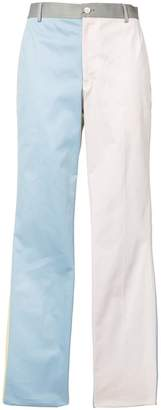 Thom Browne block colour tapered trousers