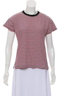 Rag & Bone Striped Short Sleeve T-Shirt