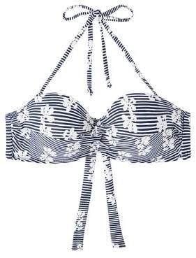 MANGO Printed bikini top