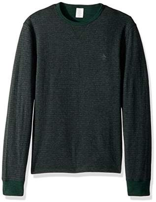 Original Penguin Men's Long Sleeve Reversible Tee