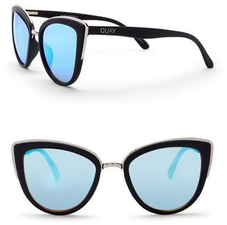 Quay My Girl 55mm Cat Eye Sunglasses