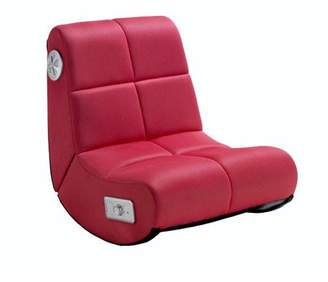 Mini X Rocker Video Gaming Rocker Chair, Pink