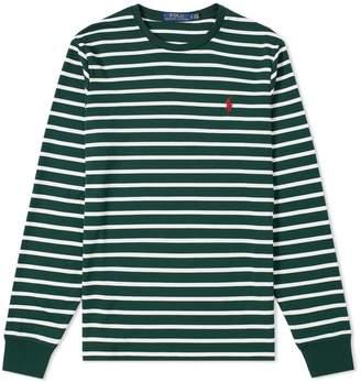 Polo Ralph Lauren Long Sleeve Pima Stripe Tee