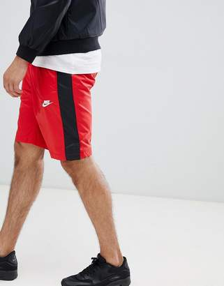 Nike Woven Logo Shorts In Red 927994-657