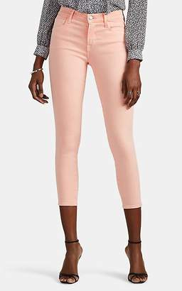 J Brand Women's 835 Mid-Rise Capri Jeans - Orange