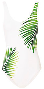 Onia Kelly Palm Print One Piece Swimsuit $195 thestylecure.com