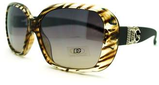 Dolce & Gabbana JuicyOrange Zebra Print Sunglasses Womens Square Designer Fashion Shades