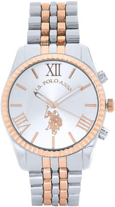 U.S. Polo Assn. USC40056AZ Two-Tone Watch