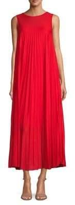 Max Mara Oggetti Pleated Maxi Dress