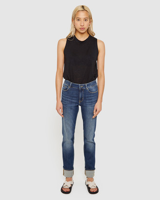 Jag Bianca High Rise Straight Jeans