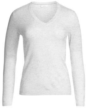 Brunello Cucinelli Elbow-Patch Cashmere Sweater