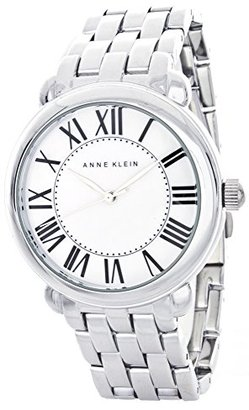 Anne Klein (アン クライン) - Anne Klein母のパールダイヤルシルバーブレスレットクォーツAK / 1927mpsv