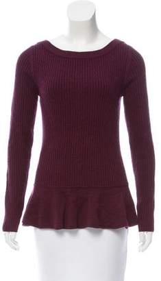 Tory Burch Wool Knit Long Sleeve Sweater