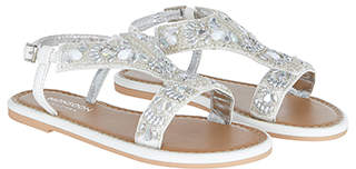 Monsoon Iridescent Beaded Sandals