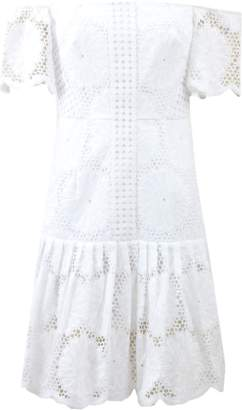 N/NICHOLAS Sunflower Lace Dress