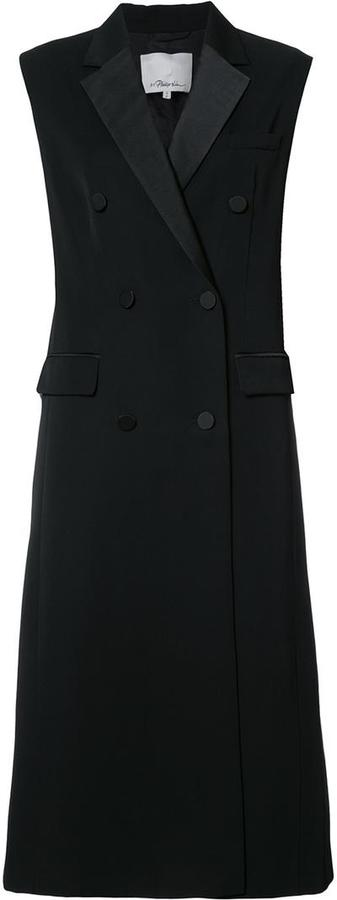 3.1 Phillip Lim 3.1 Phillip Lim sleeveless tuxedo coat