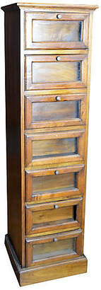 One Kings Lane Vintage Antique 6-Drawer Apothecary Cabinet - FEA Home