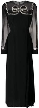 Fendi pearl bow dress