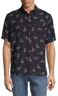 Whale Button-Down Shirt