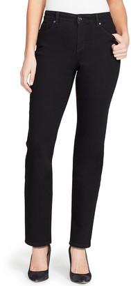 Bandolino Women's Mandie Classic MidRise Straight-Leg Jeans