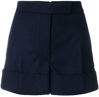 Thom Browne Flannel Backstrip Mini Short