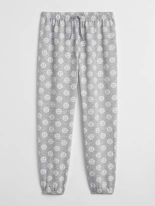 Gap Print PJ Pants in French Terry