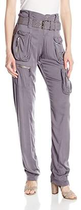 Pete & Greta by Johnny Was Women's Rayon Cargo Pants