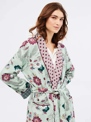 White Stuff Trailling Flower Unlined Robe