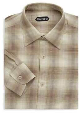 Tom Ford Cotton Regular-Fit Dress Shirt