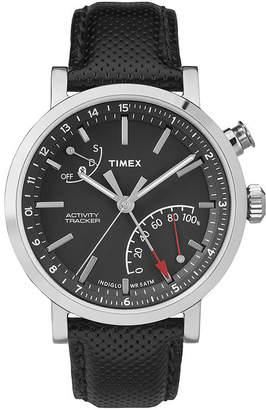 Timex Metropolitan Black Dial Leather Strap Mens Watch TW2P81700ZA