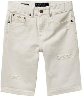Lucky Brand Bull Denim Rip Repair Shorts (Big Boys)