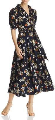 Jill Stuart Floral-Printed Wrap Dress