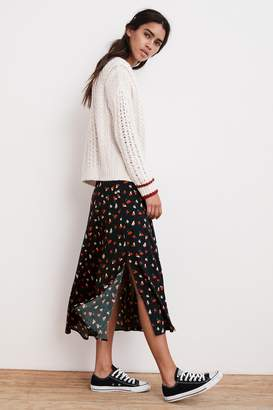 Velvet by Graham & Spencer TITANIA PRINTED CHALLIS MIDI SKIRT