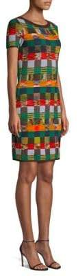 Missoni Wool Knit Check Sweater Dress