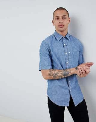 G Star G-Star Bristum short sleeve denim shirt