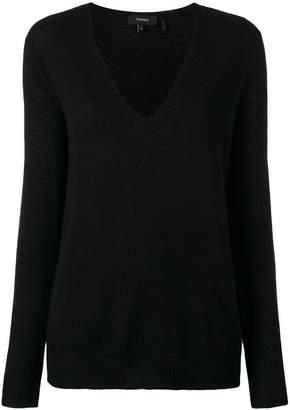 Theory cashmere V-neck jumper