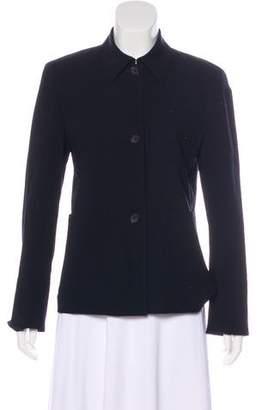 Akris Punto Wool Structured Jacket